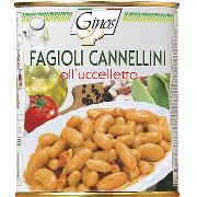 ANTIPASTI E CONTORNI - FAGIOLI CANNELLINI all'uccelletto (COD. 01232)