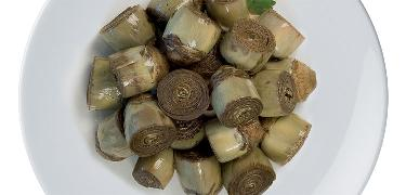 "STARTERS AND SIDE DISHES - Home style artichokes ""I Piccolissimi"" (COD. 01038)"