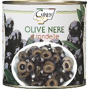 OLIVE - Olive nere a RONDELLE (COD. 01308)