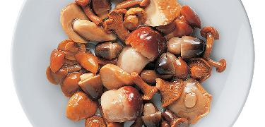 "STARTERS AND SIDE DISHES - ""Special"" mushrooms mix in oil  (COD. 01025)"