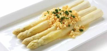 STARTERS AND SIDE DISHES - White asparagus (COD. 01303)