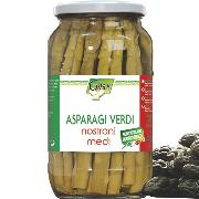 STARTERS AND SIDE DISHES - Italian green asparagus - medium size (COD. 01342)