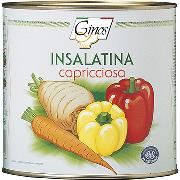 "STARTERS AND SIDE DISHES - ""Insalata Capricciosa"" Vegetable mix  (COD. 01315)"
