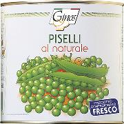 STARTERS AND SIDE DISHES - Peas in brine (COD. 01321)