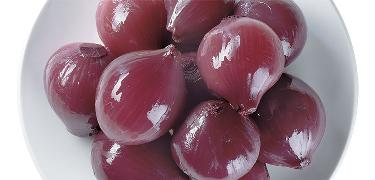 ONIONS - Red onions in red vinegar (COD. 01011)