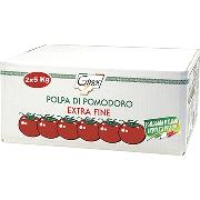 TOMATOES - Extra-fine TOMATO PULP - 2 x 5 kg (COD. 04012)
