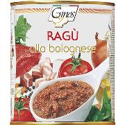 "SAUCES AND SAUCES MEAT - ""BOLOGNESE"" meat sauce (COD. 03003)"