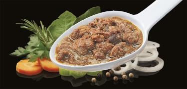 SAUCES AND SAUCES MEAT - RABBIT meat sauce (COD. 03105)