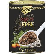 SAUCES AND SAUCES MEAT - HARE meat sauce (COD. 03103)