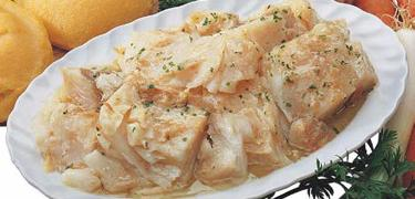 "DISHES & SOUPS - ""VICENTINA STYLE"" Codfish (COD. 07001)"
