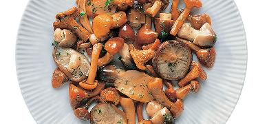 "MUSHROOMS - SAUTEED mushrooms mix - ""SPECIAL""  1/1 (COD. 08008)"