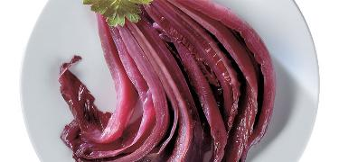 STARTERS AND SIDE DISHES - RED CHICORY in oil (COD. 01003)