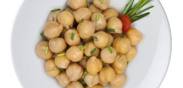 STARTERS AND SIDE DISHES - Seasoned Chickpeas (COD. 01234)