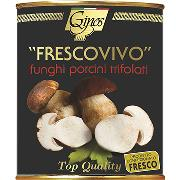 "MUSHROOMS - ""FRESCOVIVO"" PORCINI MUSHROOMS in cubes (COD. 08044)"