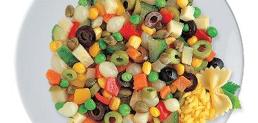 STARTERS AND SIDE DISHES - Vegetable mix for rice and pasta (COD. 01203)