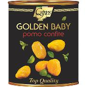 "TOMATOES - ""GOLDEN BABY"" - Yellow peeled semidried tomatoes (COD. 01007)"