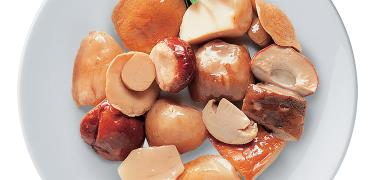 MUSHROOMS - FRESH Sliced PORCINI Mushrooms IN E.V.O. OIL (COD. 01030)