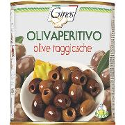 "OLIVES - ""OLIVAPERITIVO"" - TAGGIASCA Olives pitted in E.V.O. (COD. 01349)"