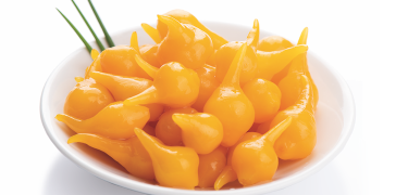 PEPPERS - SMALL DROPS OF YELLOW PEPPERS (COD. 01042)
