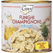 "MUSHROOMS - ""Trifolati"" champignons for pizza (COD. 08105)"