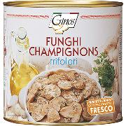 "MUSHROOMS - White ""trifolati"" champignons (COD. 08104)"