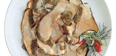 MUSHROOMS - Rehydrated DRIED PORCINI in oil (COD. 08203)